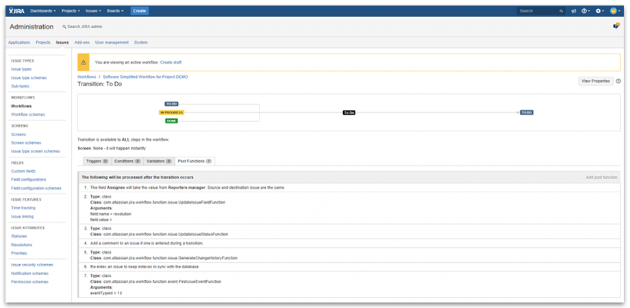 Use User Profile filed ins JIRA workflows such as escalation processes in support issues.