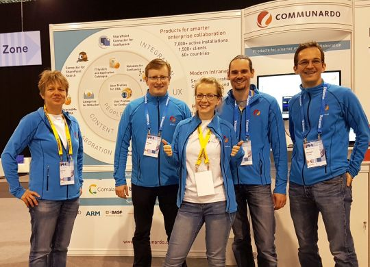Our team at Atlassian Summit