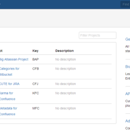Categories for Bitbucket