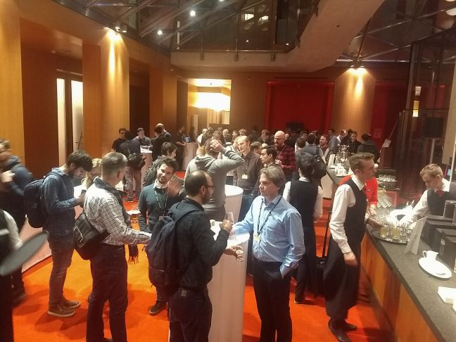 Networking at Atlassian team Tour