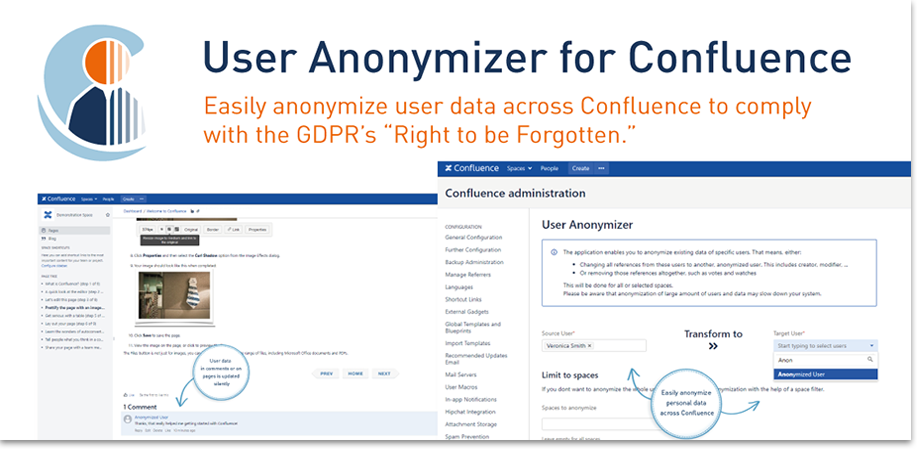 Banner User Anonymizer for Confluence