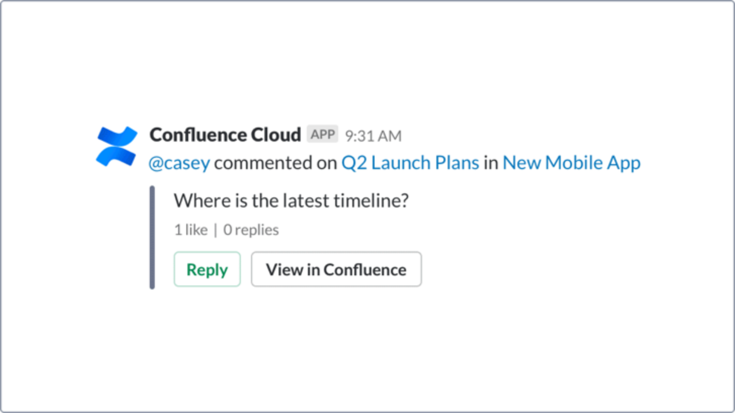 Confluence Cloud Pillar Page