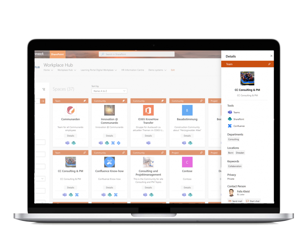 Space Details powered by Space Navigator for Office 365