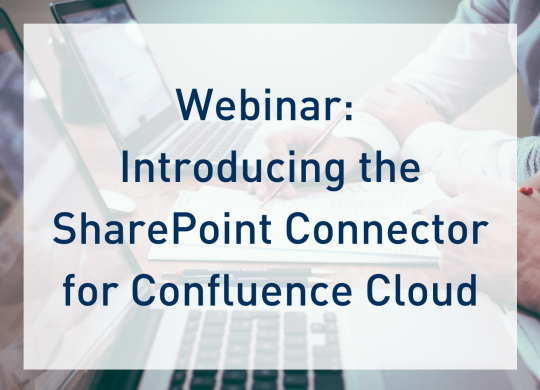 Webinar: SharePoint Connector for Confluence Cloud