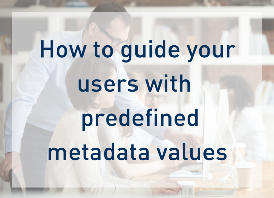 Metadata default values - Preview