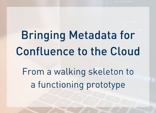 Metadata Cloud Journey